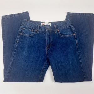 Levis 550 Jeans Size 16 Relaxed Fit High Rise Boys